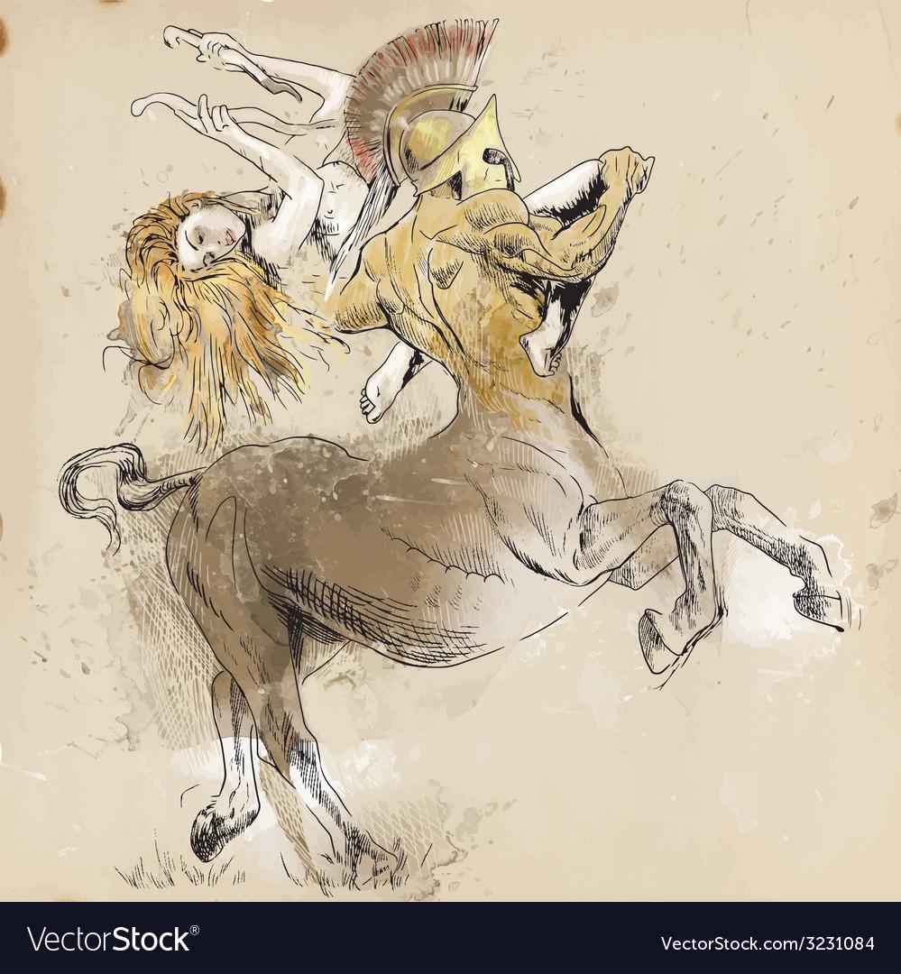 Centaur vector | Price: 1 Credit (USD $1)