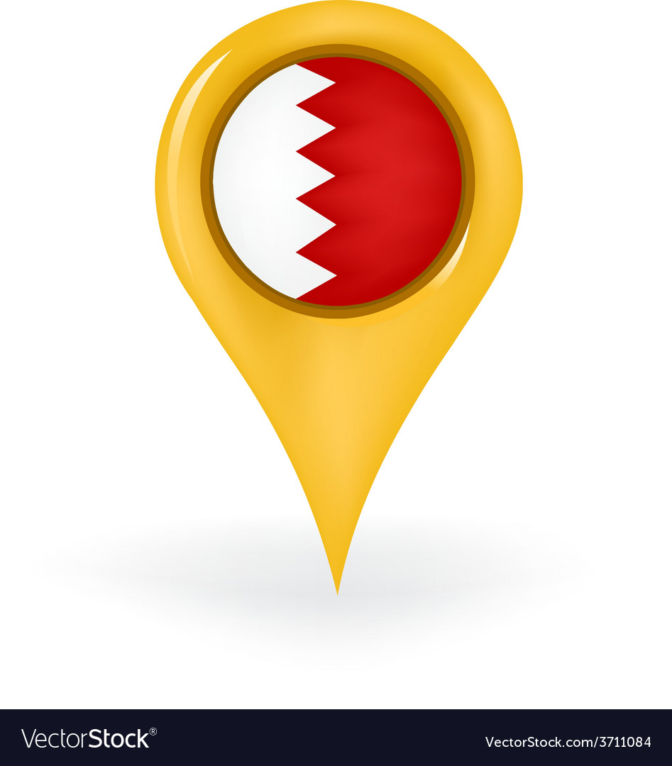 Location bahrain vector | Price: 1 Credit (USD $1)