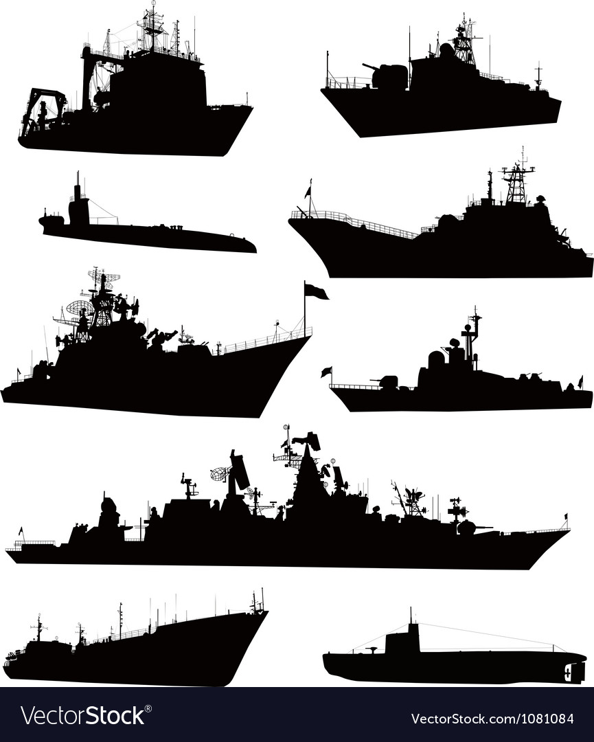 Naval set vector | Price: 1 Credit (USD $1)