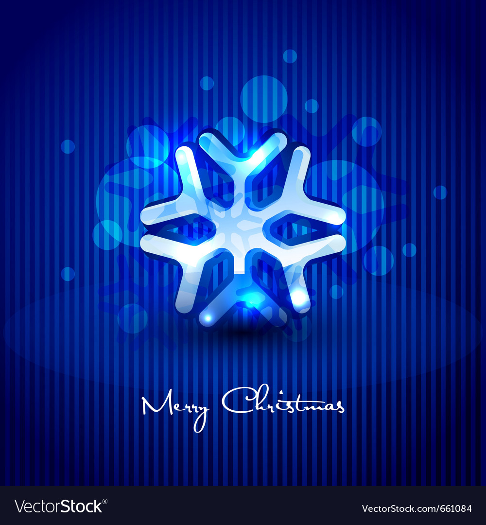 Snow flake design vector | Price: 1 Credit (USD $1)