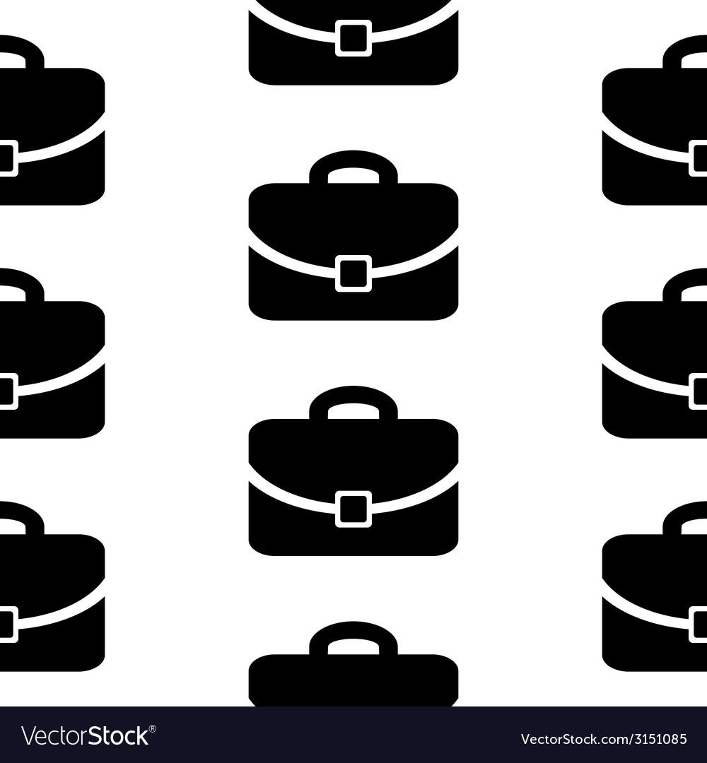 Portfolio symbol icon seamless pattern vector | Price: 1 Credit (USD $1)