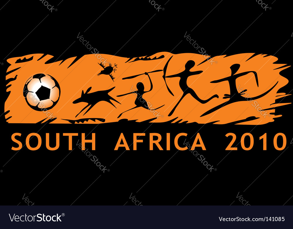 South africa we 2010 vector | Price: 1 Credit (USD $1)