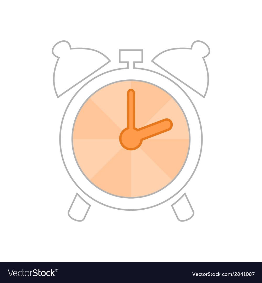 Alarm clock2 vector | Price: 1 Credit (USD $1)