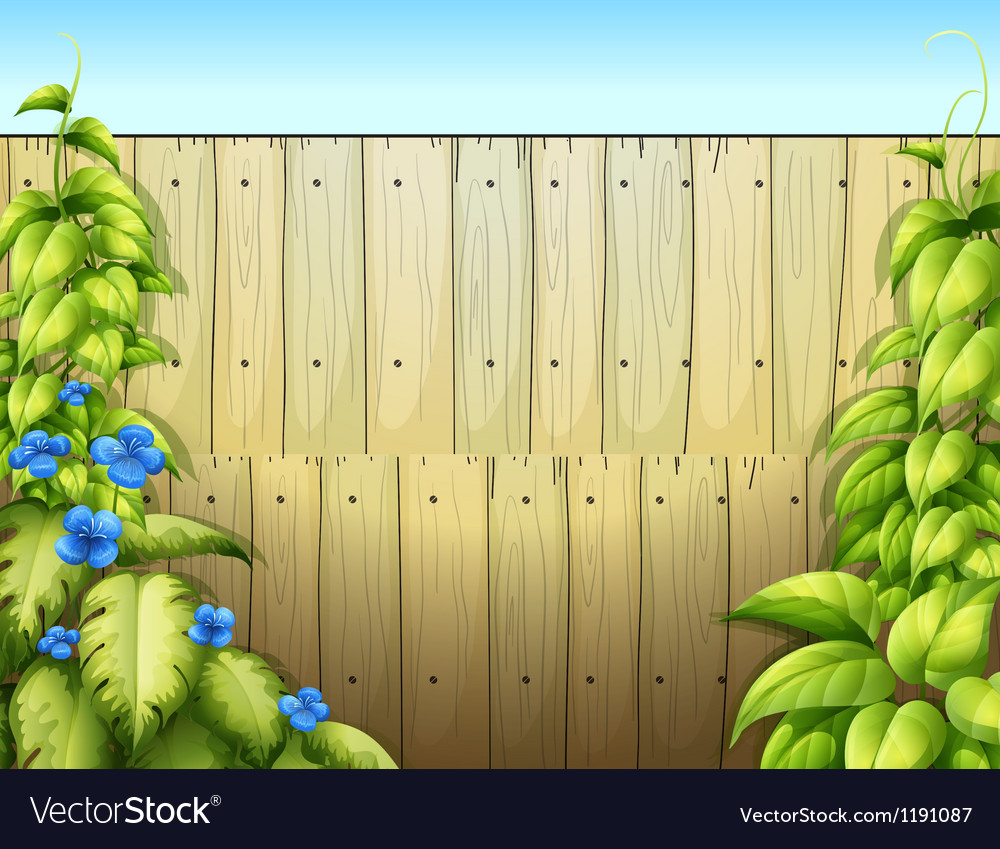 The high wooden fence vector | Price: 1 Credit (USD $1)