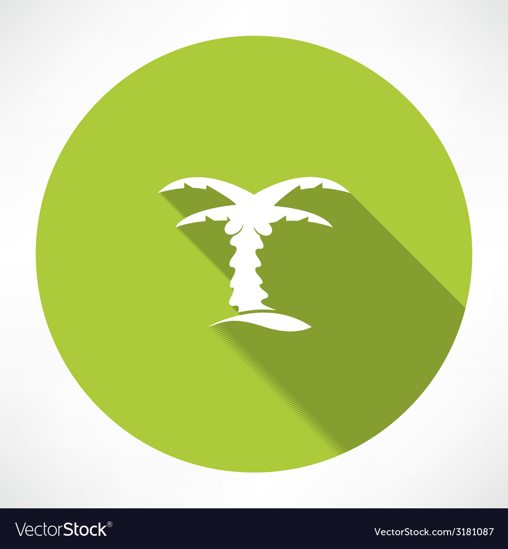 Palms icon vector | Price: 1 Credit (USD $1)