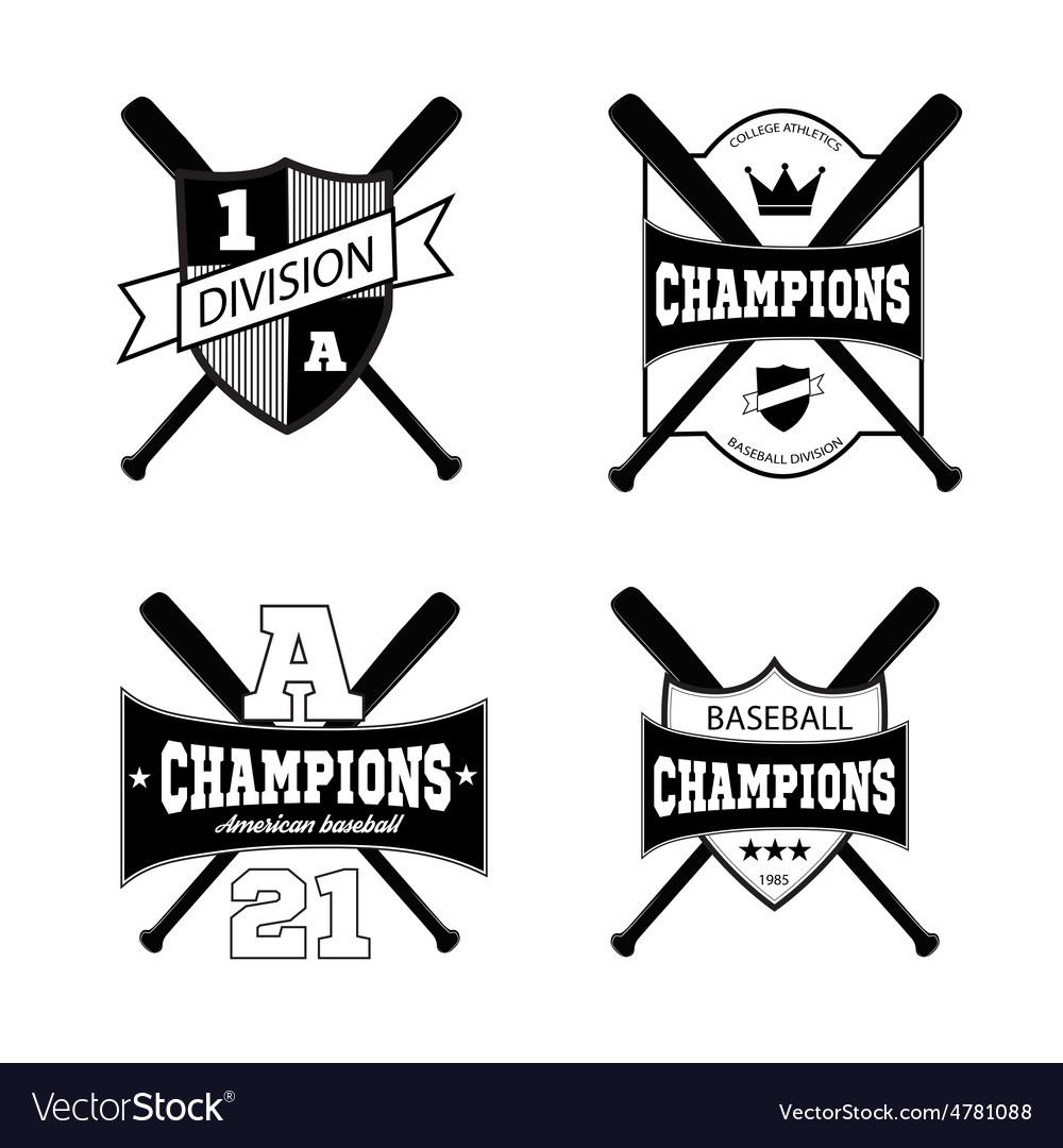 American sporting design elements vector   Price: 1 Credit (USD $1)