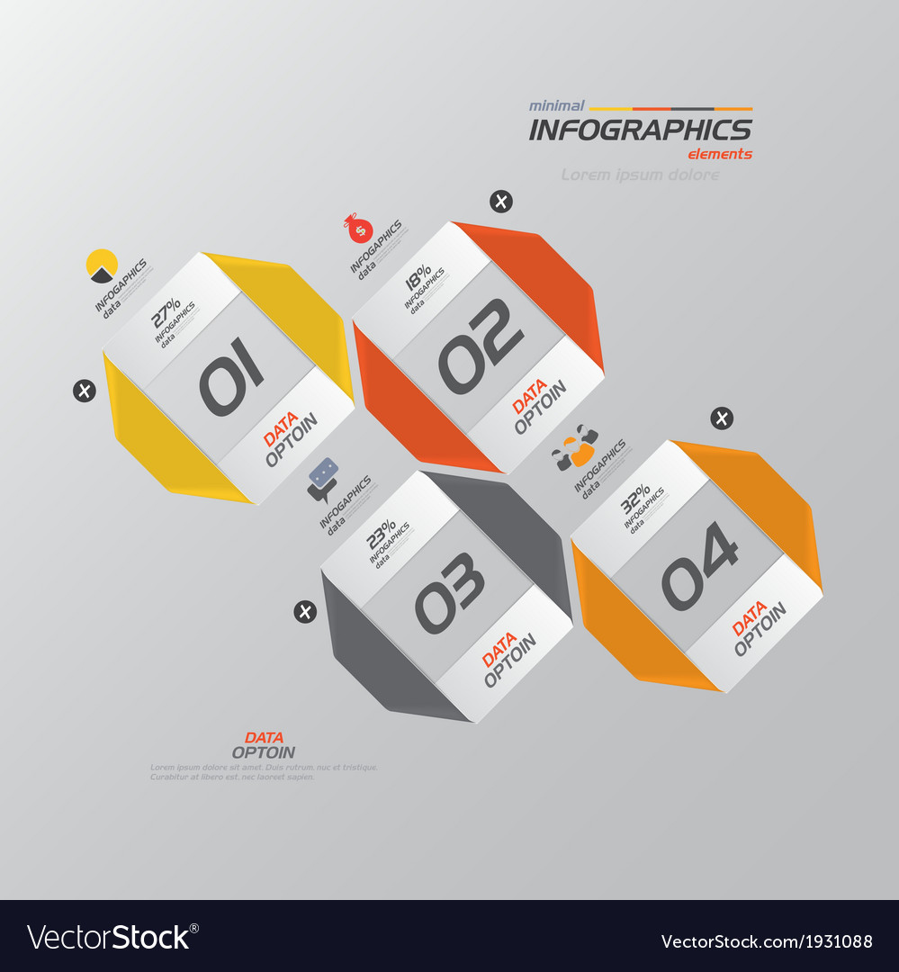 Infographics design 4 vector | Price: 1 Credit (USD $1)