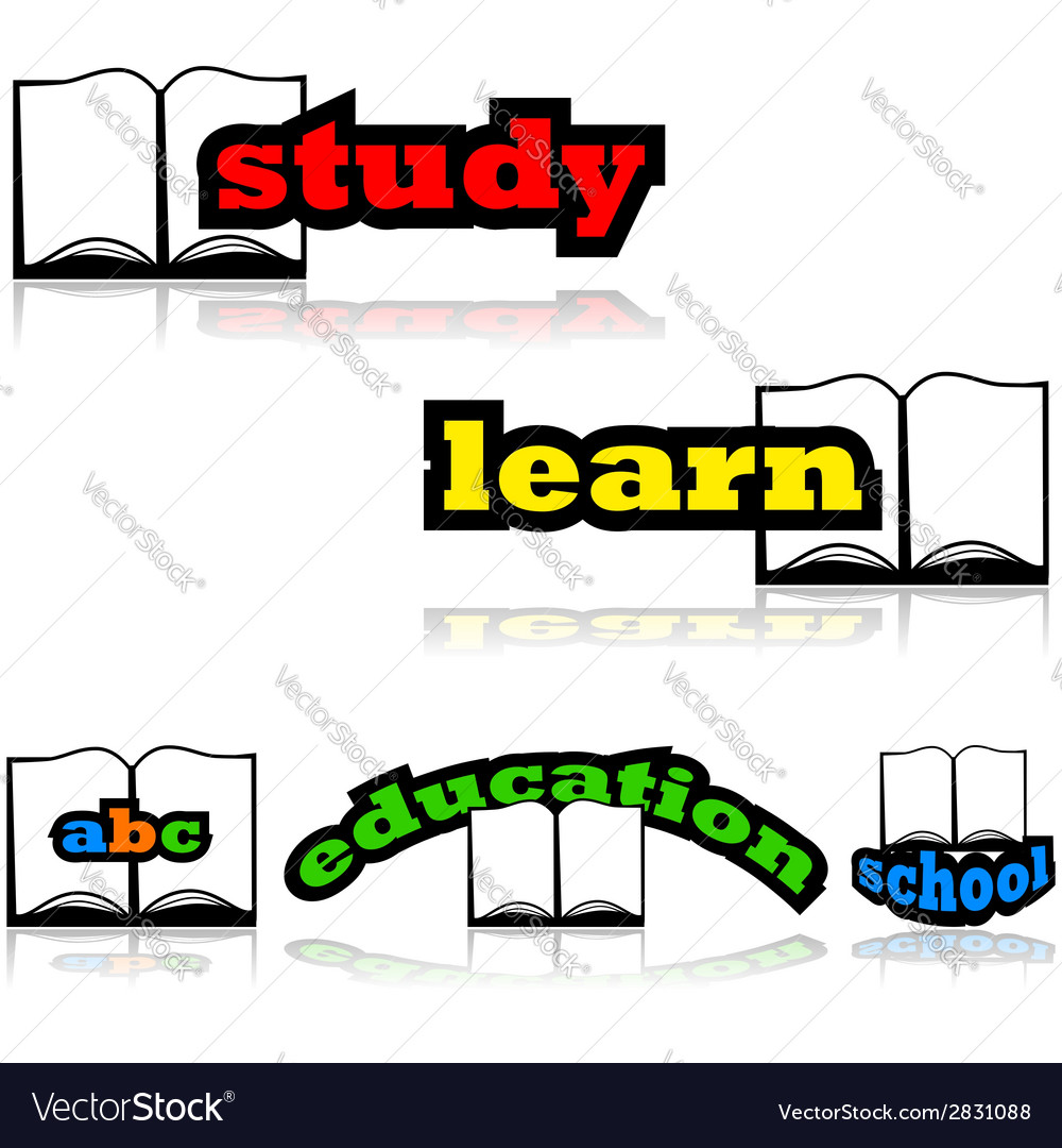 Learning with a book vector | Price: 1 Credit (USD $1)