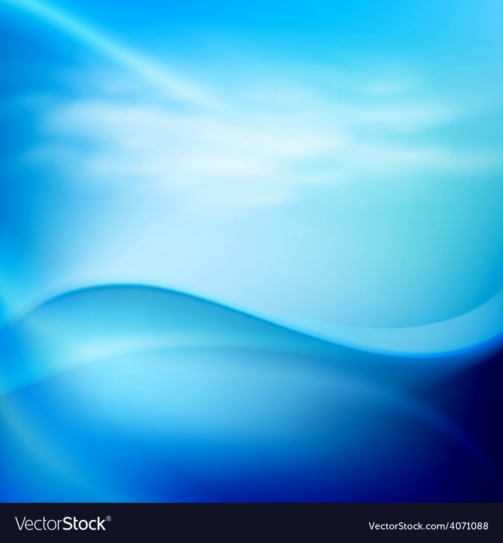 Water wave in sunny day vector | Price: 1 Credit (USD $1)