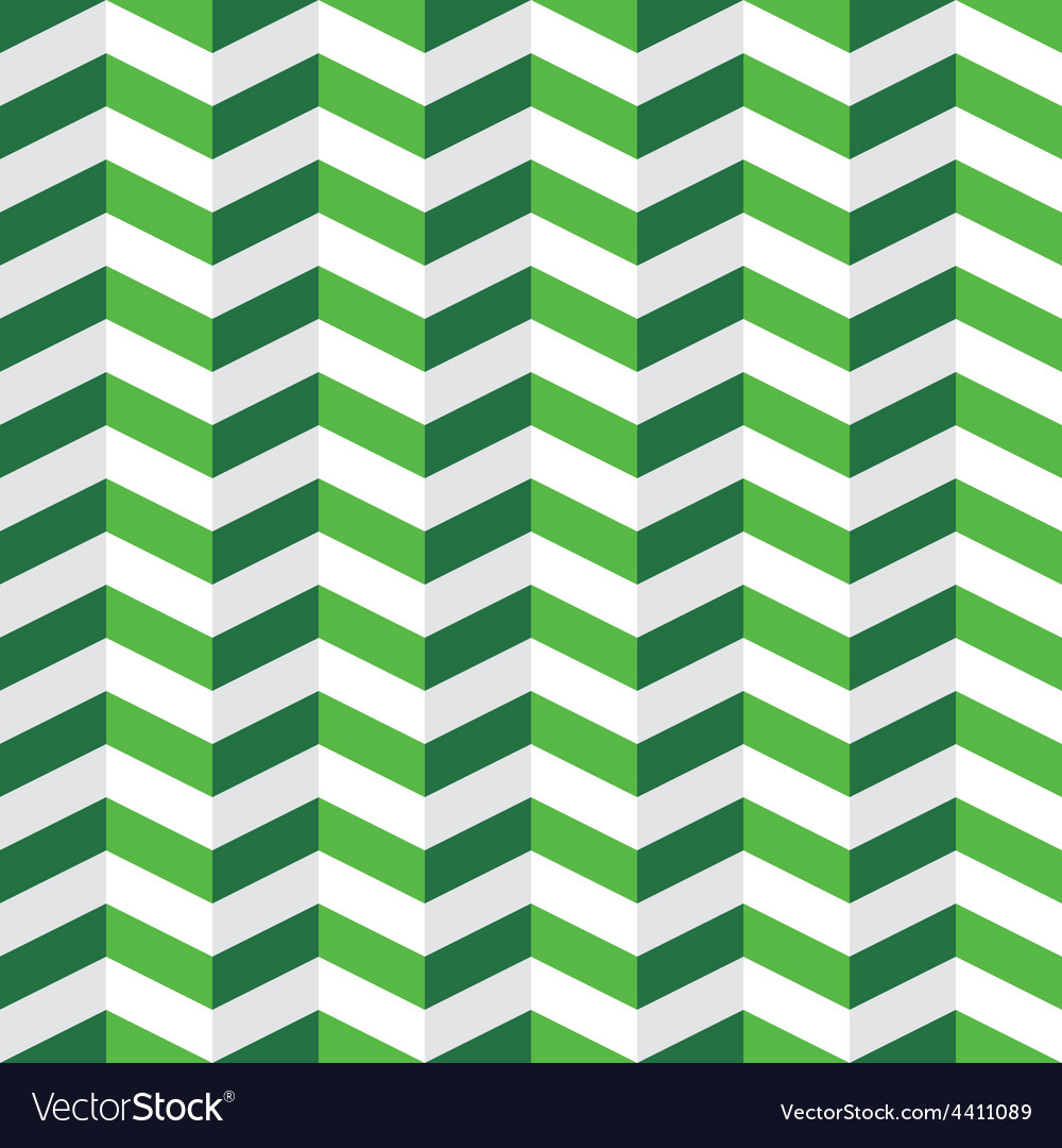 Green chevron seamless pattern vector | Price: 1 Credit (USD $1)