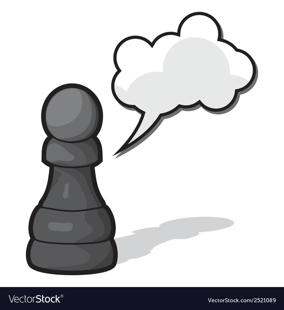 Pijun crni oblak vector   Price: 1 Credit (USD $1)