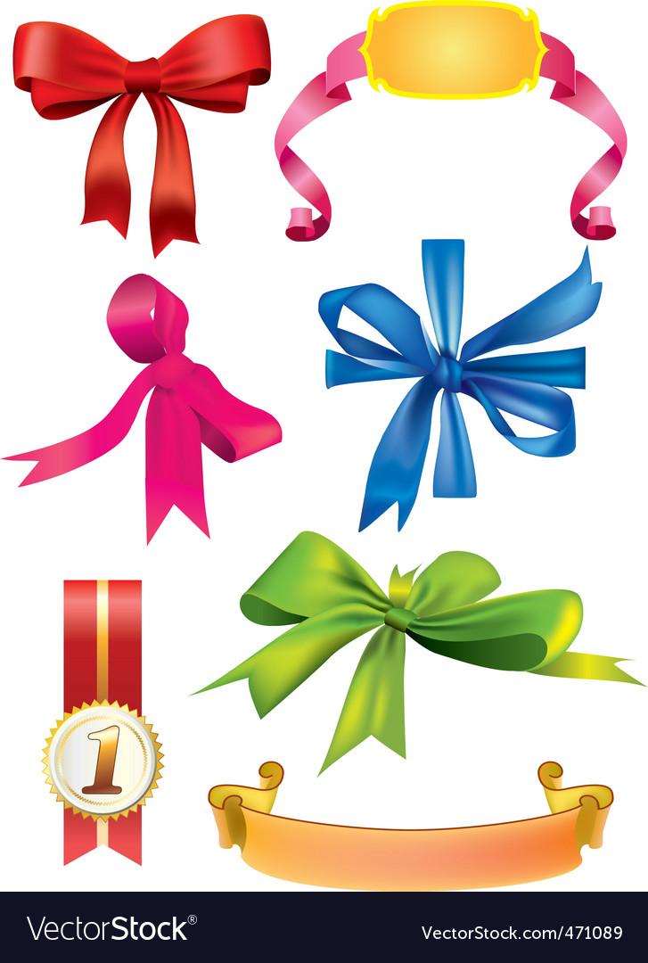 Silk ribbons vector | Price: 3 Credit (USD $3)