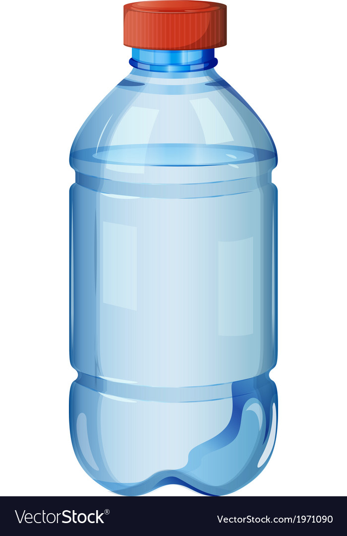 A bottle of safe drinking water vector | Price: 1 Credit (USD $1)