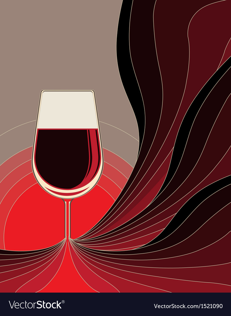 Birth of red wine vector | Price: 1 Credit (USD $1)