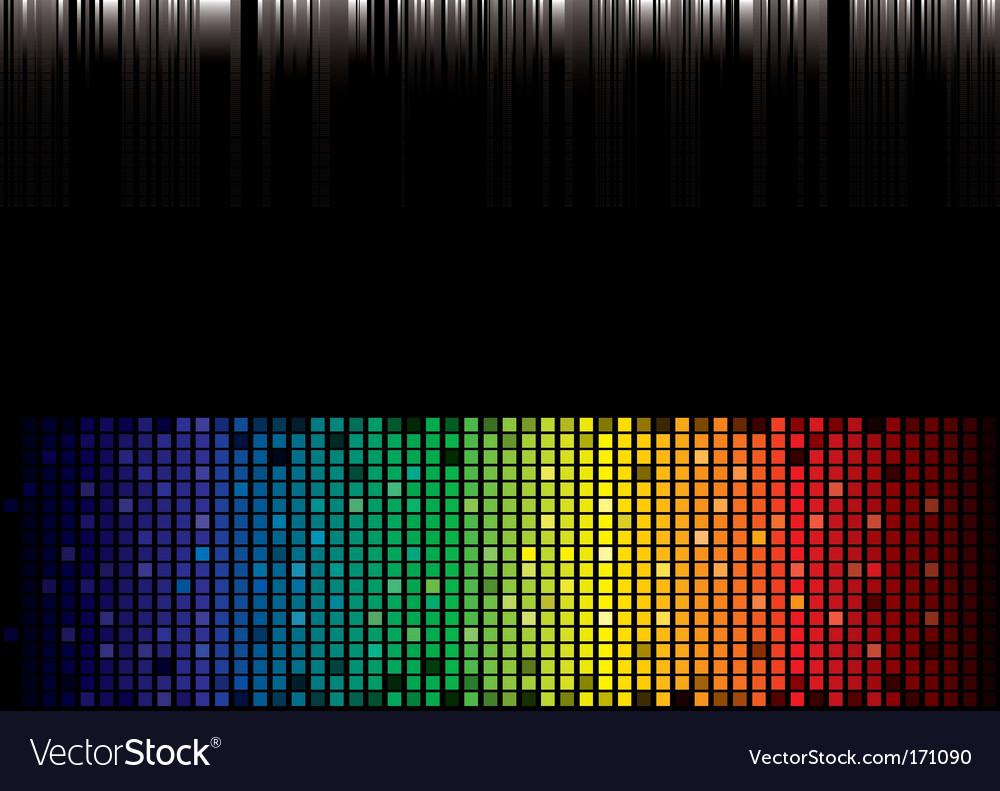 Rainbow spectrum background vector | Price: 1 Credit (USD $1)