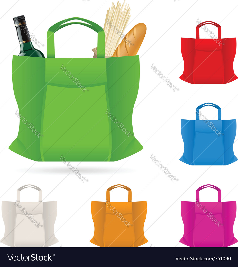 Shopping bag vector | Price: 3 Credit (USD $3)