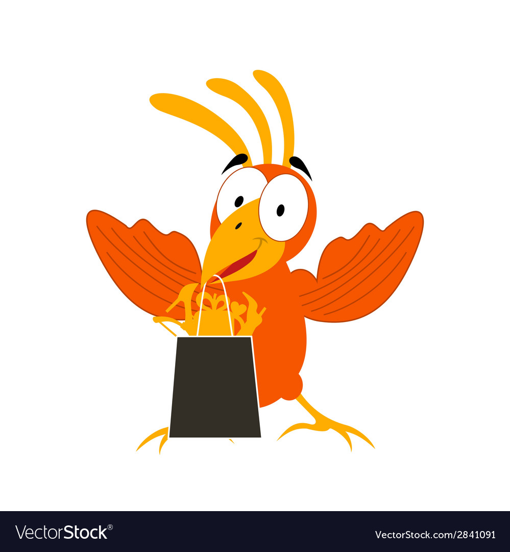 Animation a bird2 vector | Price: 1 Credit (USD $1)