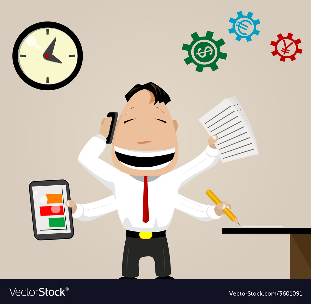 Business activity image vector | Price: 1 Credit (USD $1)