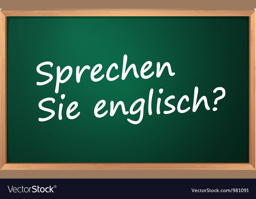 Do you speak english vector | Price: 1 Credit (USD $1)