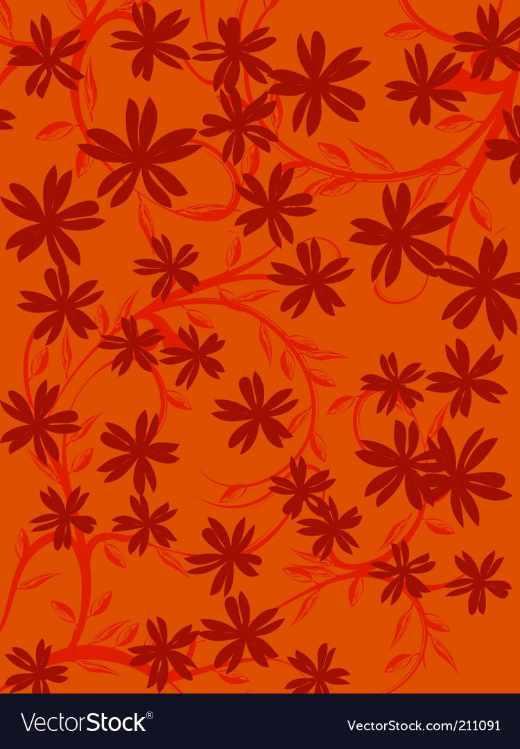 Floral design vector | Price: 1 Credit (USD $1)