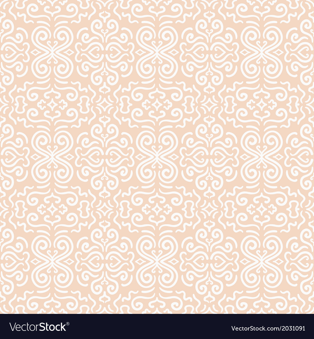 White fantasy seamless pattern background vector   Price: 1 Credit (USD $1)