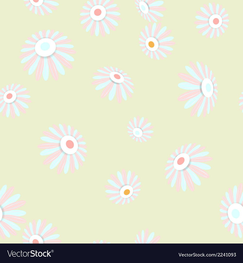 Bright seamless banner with flowers eps 10 vector | Price: 1 Credit (USD $1)