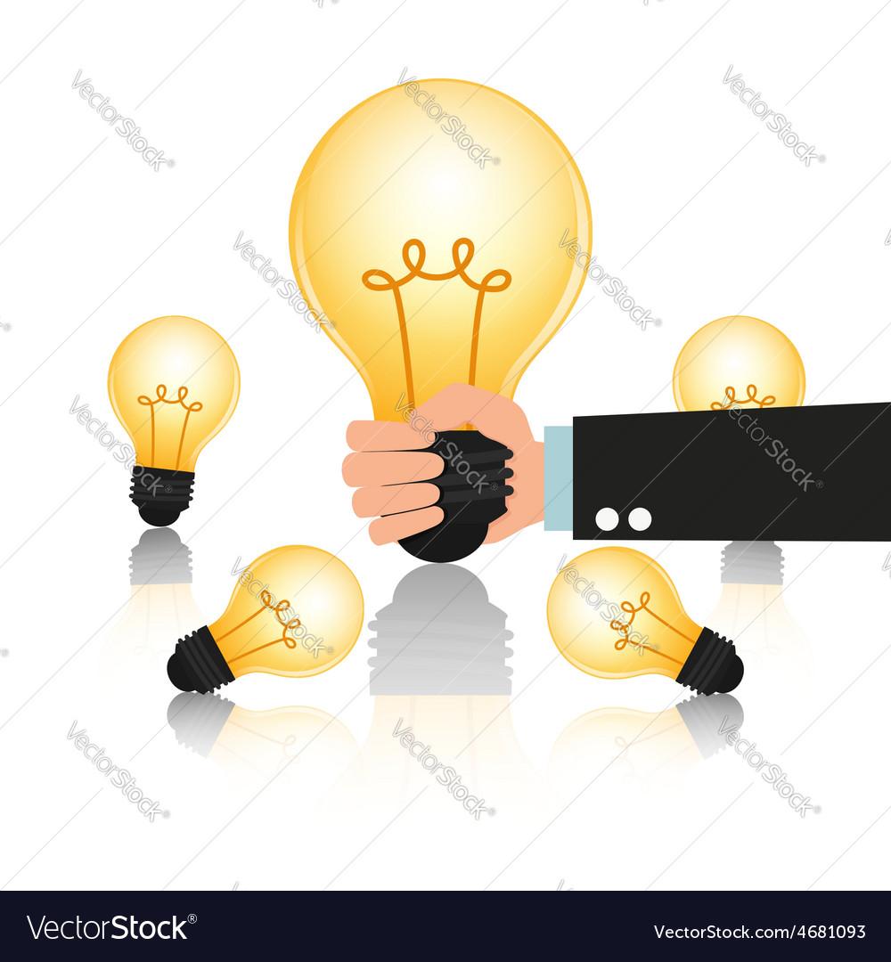 Choose big idea vector | Price: 1 Credit (USD $1)