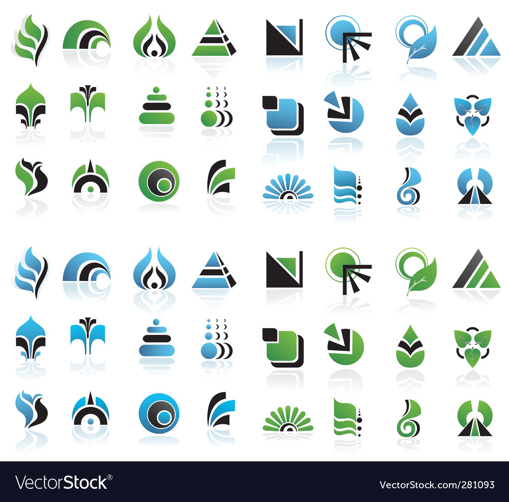 Set of design element vector | Price: 1 Credit (USD $1)