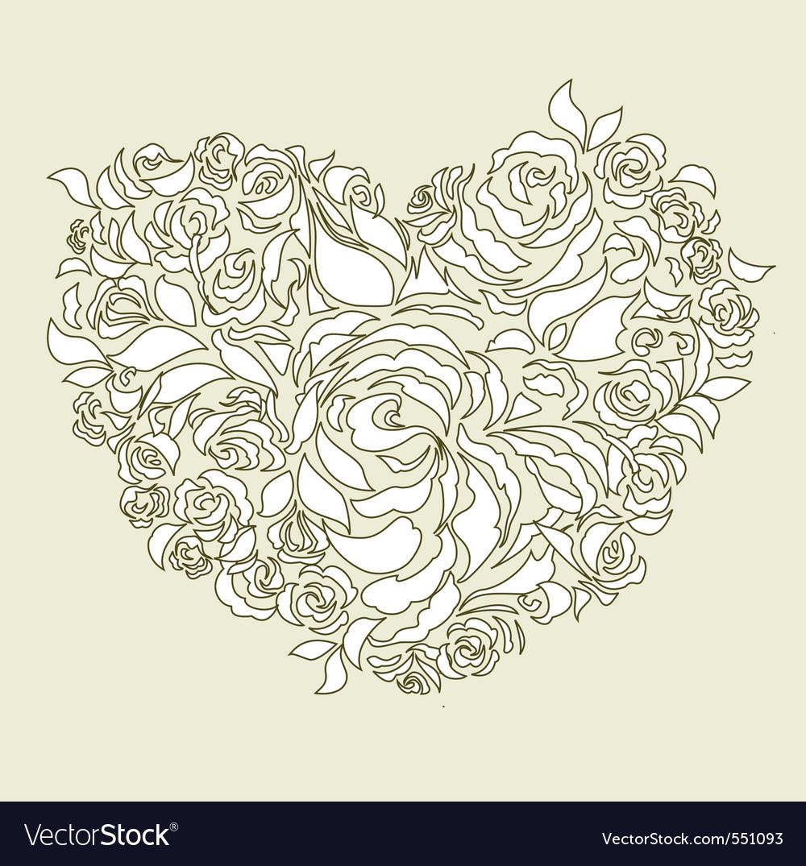 Wedding card decoration vector | Price: 1 Credit (USD $1)
