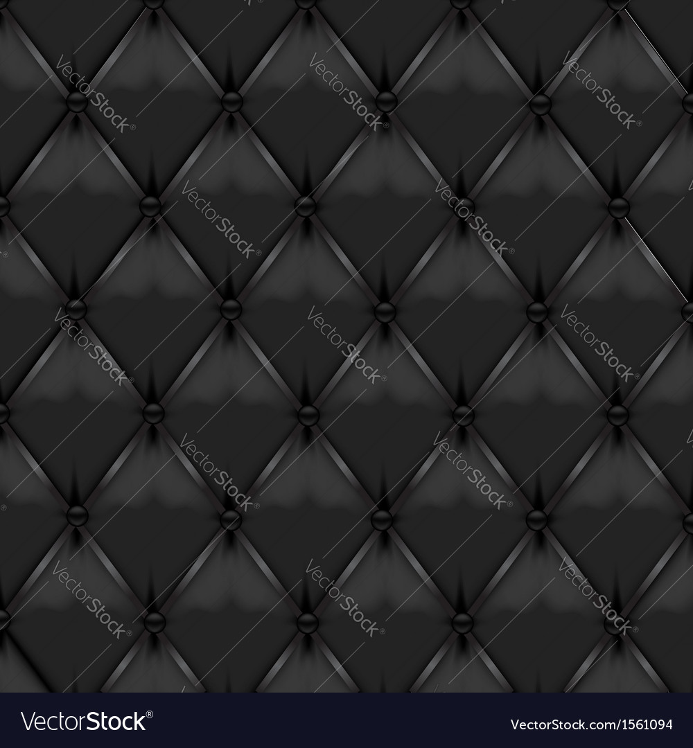 Black leather upholstery vector | Price: 1 Credit (USD $1)