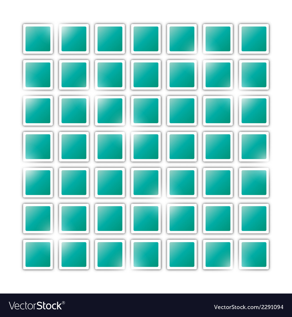 Field of green squares vector | Price: 1 Credit (USD $1)