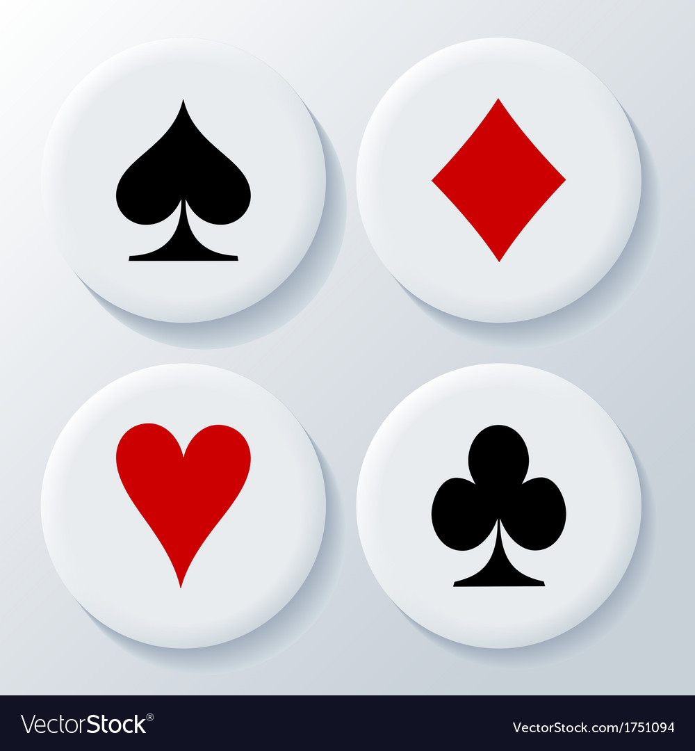 New playing cards signs vector | Price: 1 Credit (USD $1)