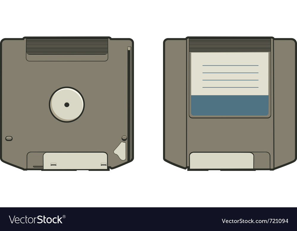Zip disk vector | Price: 1 Credit (USD $1)