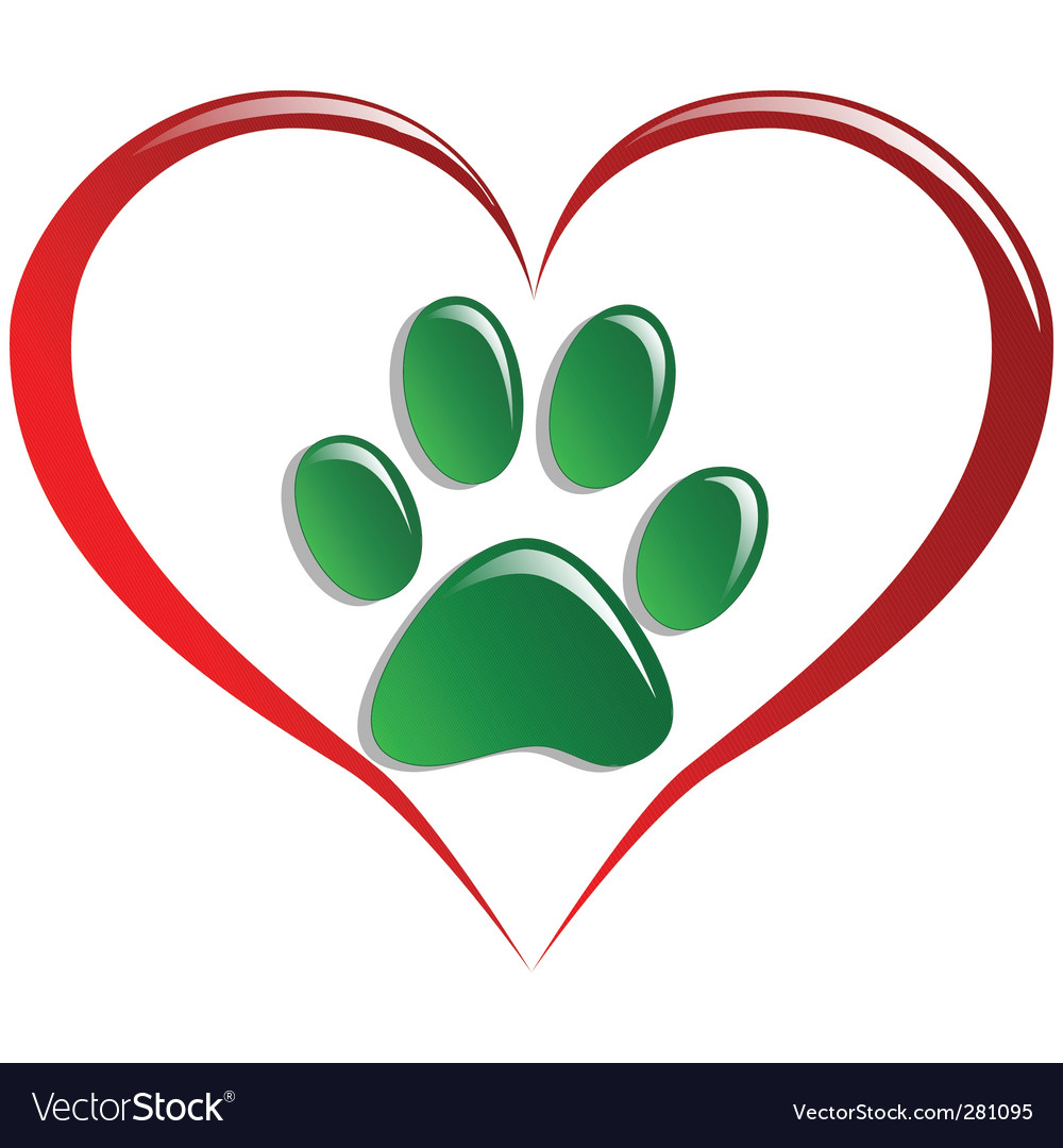 Love animals vector