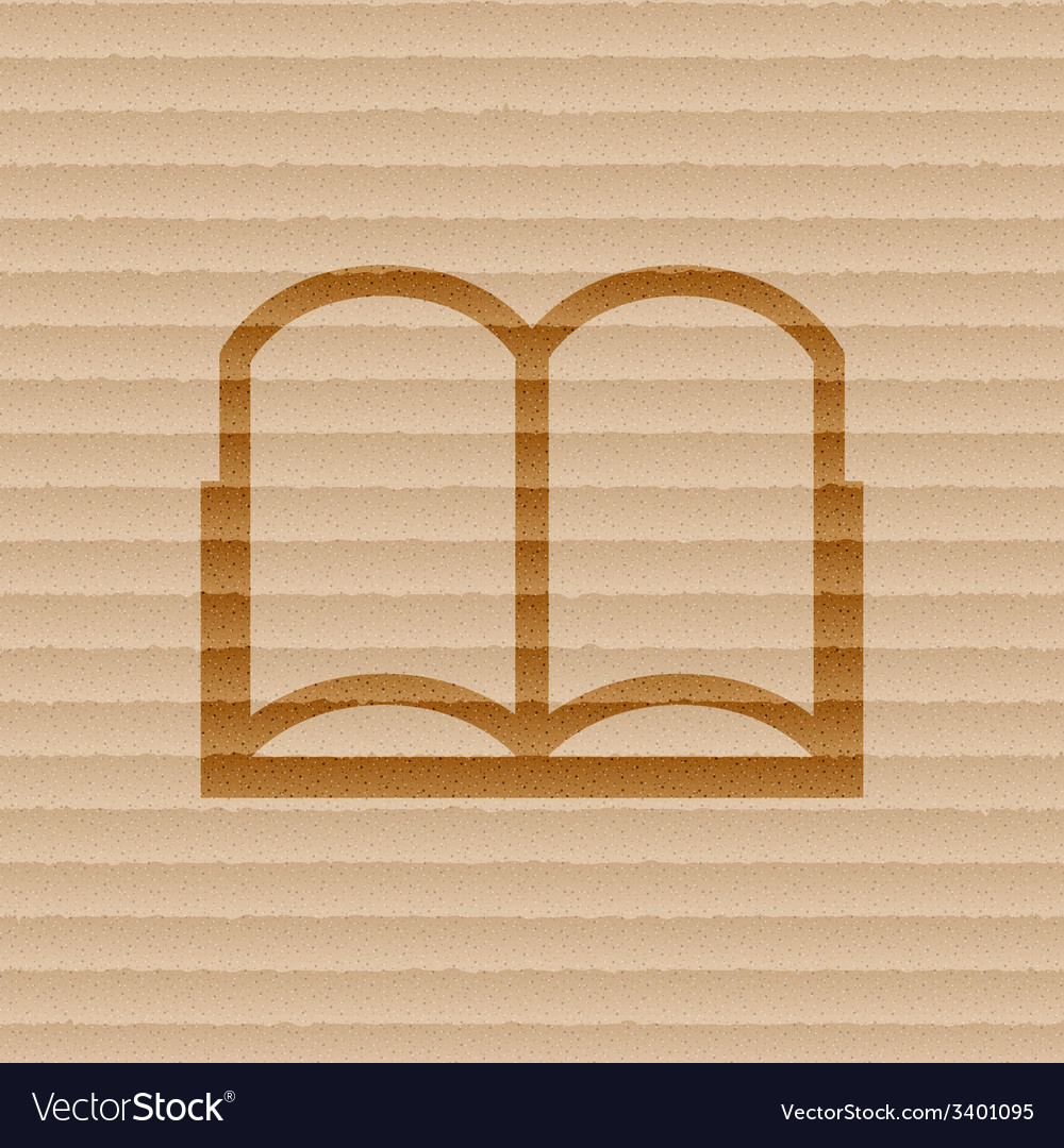 Open book icon symbol flat modern web design with vector | Price: 1 Credit (USD $1)