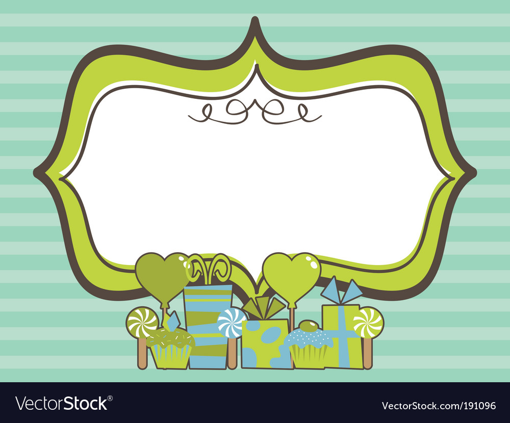 Party frame vector   Price: 1 Credit (USD $1)