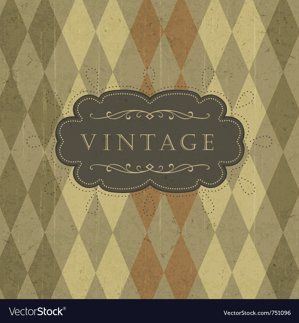 Vintage circus background vector | Price: 1 Credit (USD $1)