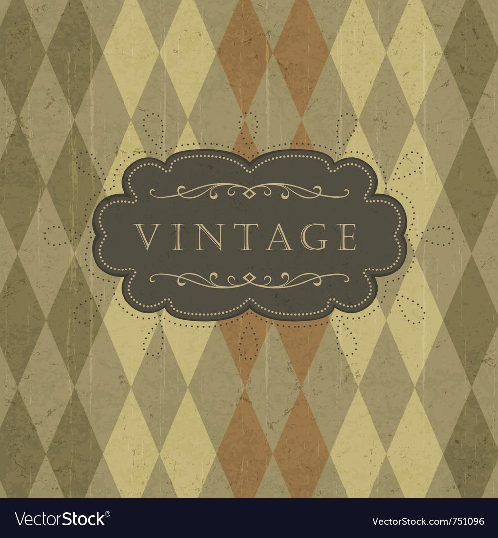 Vintage circus background vector | Price: 1 Credit (USD $1)