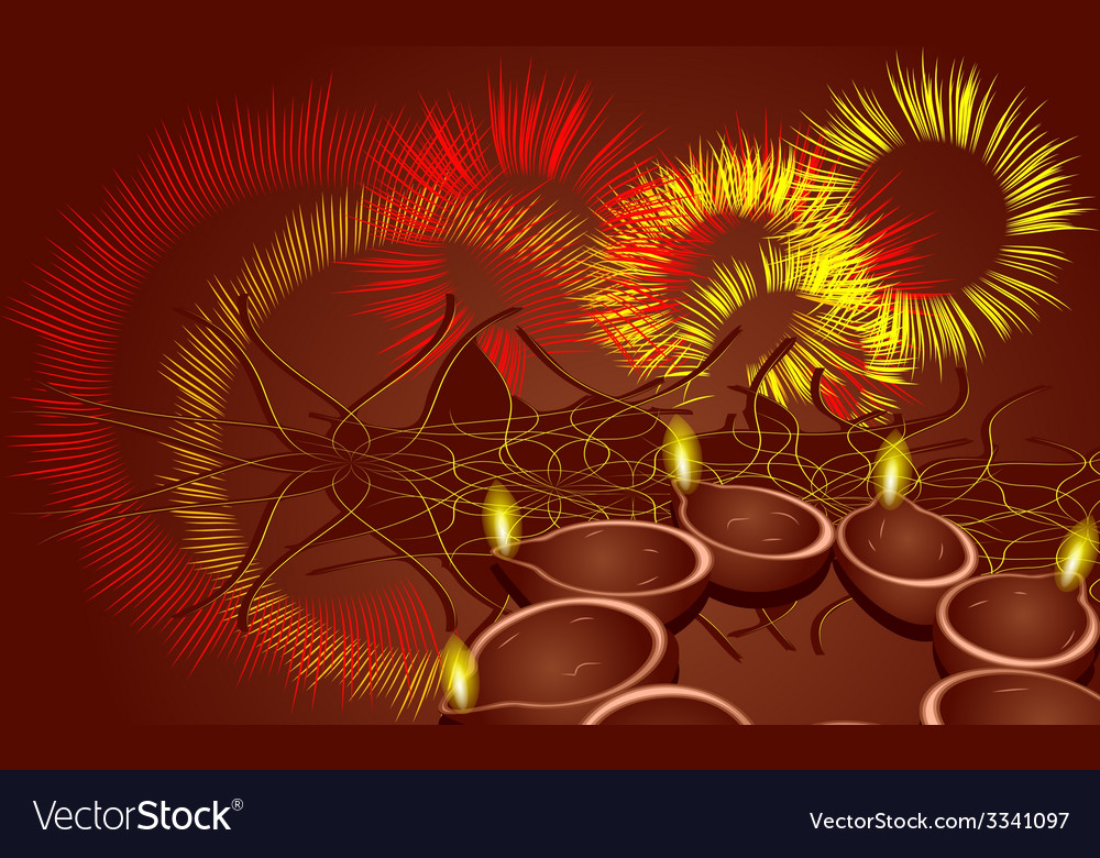 Diwali vector | Price: 1 Credit (USD $1)