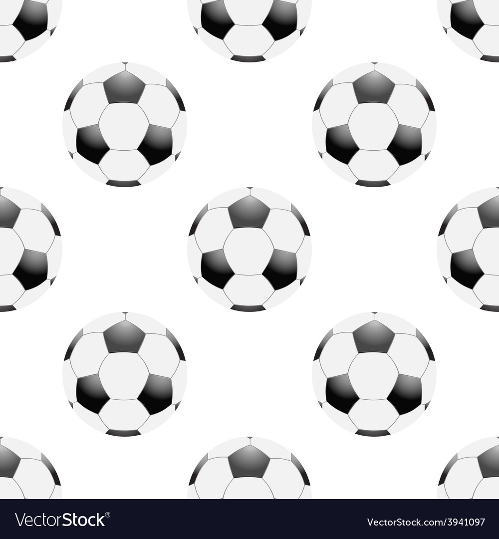 Universal football seamless patterns tiling vector | Price: 1 Credit (USD $1)