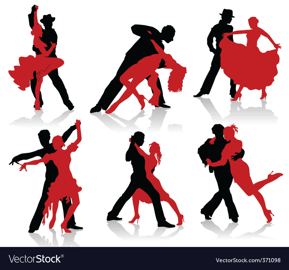 Ballroom dancer vector | Price: 1 Credit (USD $1)