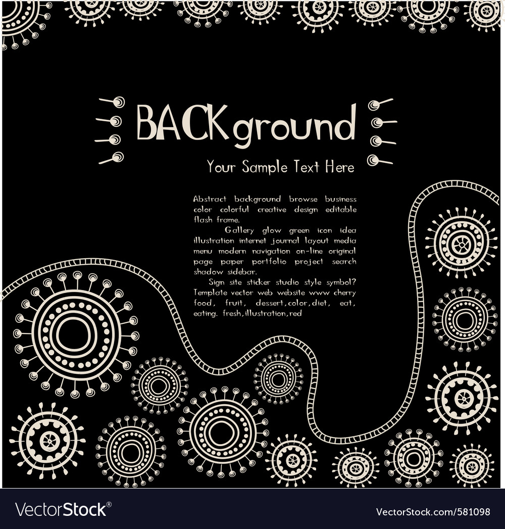 Ethnic background vector | Price: 1 Credit (USD $1)