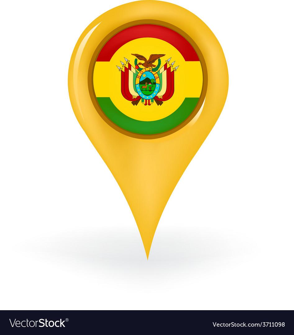 Location bolivia vector | Price: 1 Credit (USD $1)