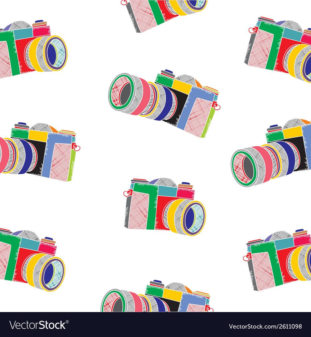 Rainbow camera vector | Price: 1 Credit (USD $1)