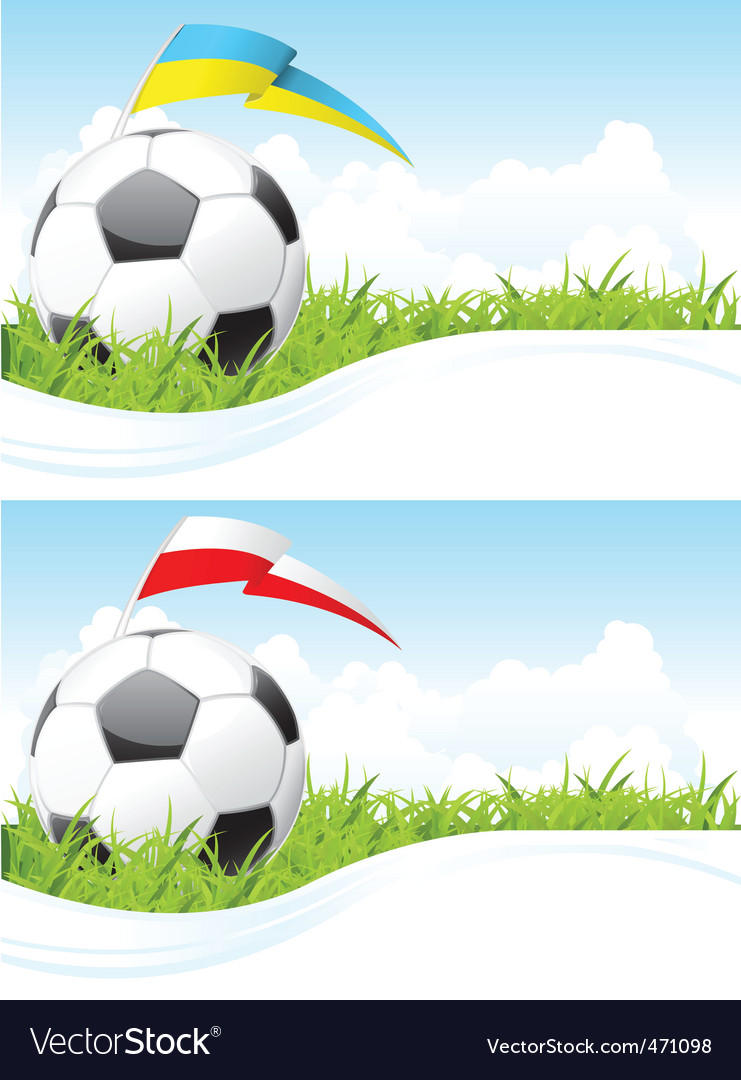 Soccer background vector | Price: 1 Credit (USD $1)