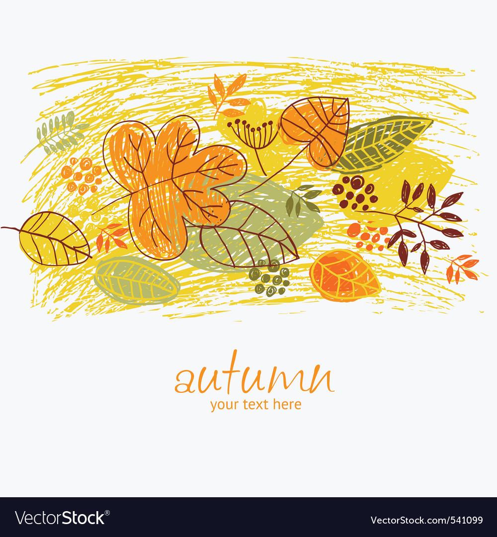 Autumn illustration vector   Price: 3 Credit (USD $3)