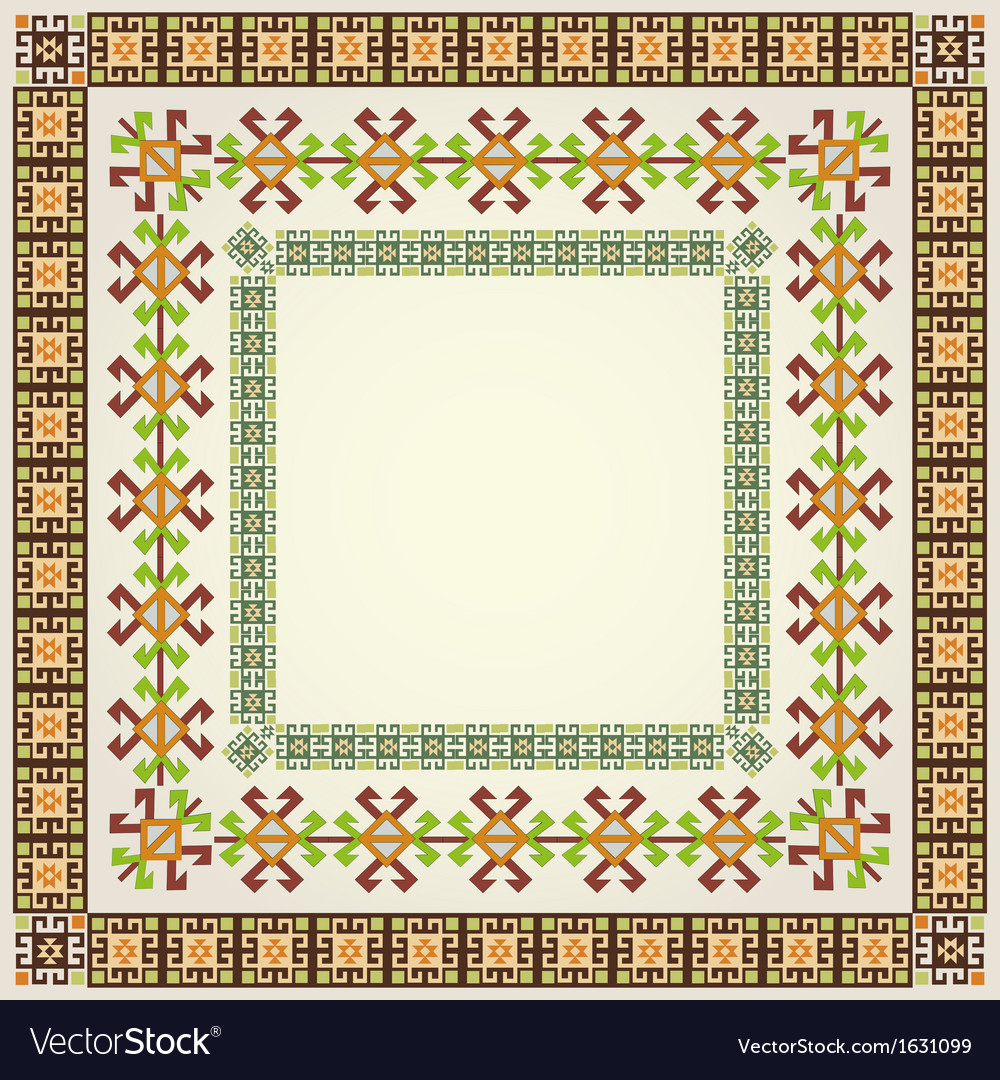 Border design vector | Price: 1 Credit (USD $1)