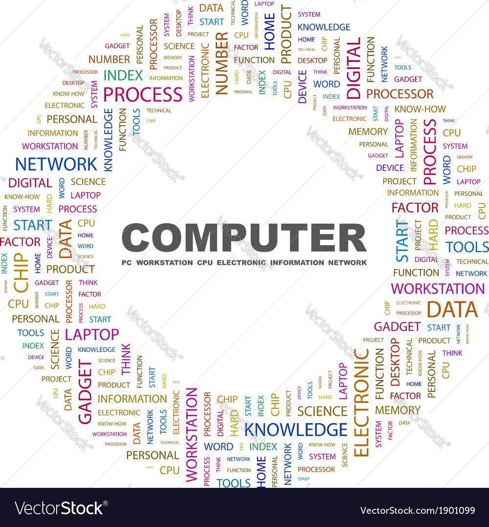 Computer vector | Price: 1 Credit (USD $1)