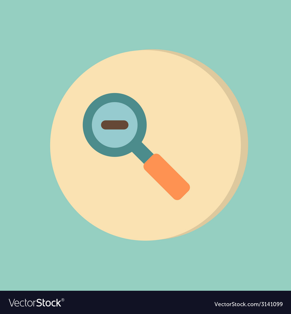 Magnifier reduction vector   Price: 1 Credit (USD $1)