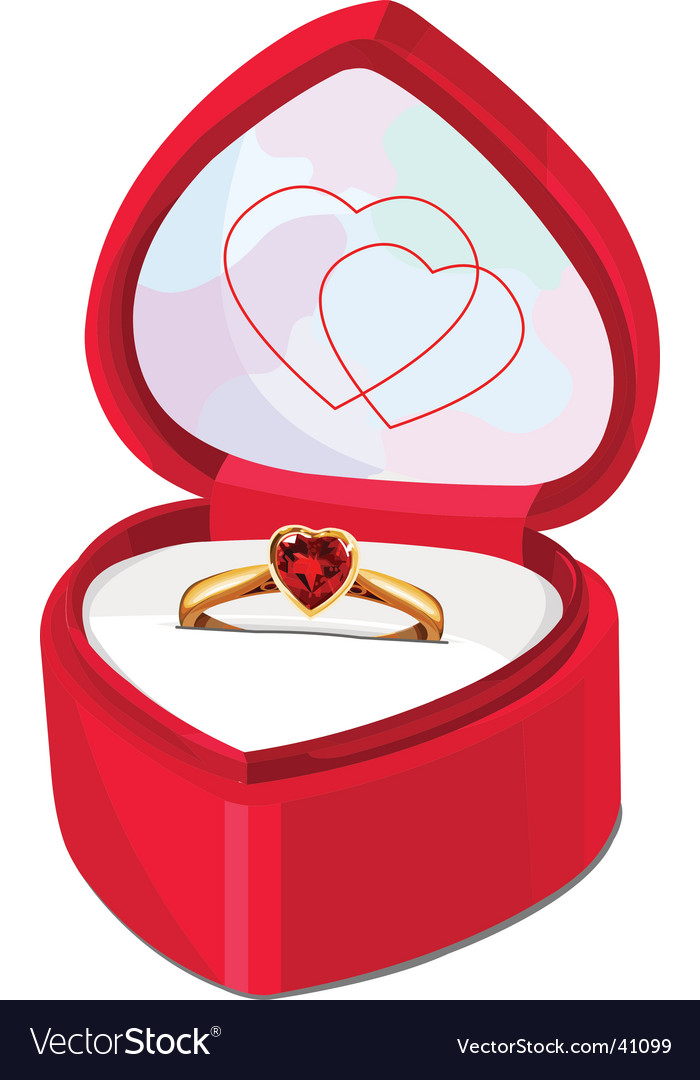 Ring box vector | Price: 3 Credit (USD $3)